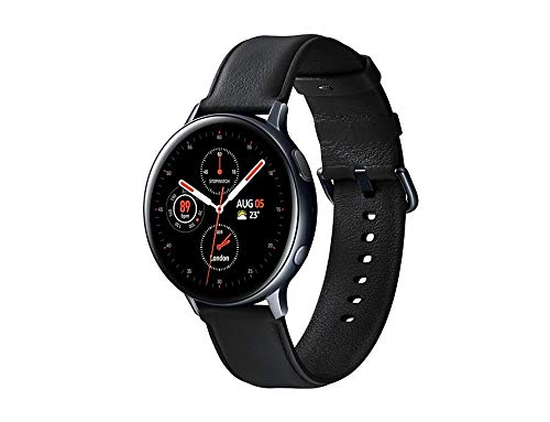 SAMSUNG SM-R820NSSAPHE Galaxy Watch Active 2 - Smartwatch de Acero, 44mm, Bluetooth,...