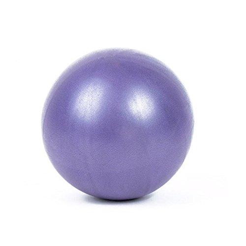 Leoie Yoga Bodybuilding Yoga Yoga Pilates Fitness Balance & Stability Mini pelota de PVC para ejercicio de postura de ejercicio, color morado