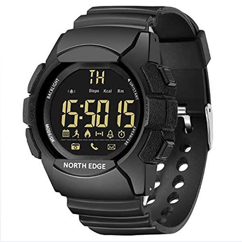 YGMDSL Reloj Inteligente Reloj Reloj Reloj Relojes Deportes Reloj Digital 33 Meses Tiempo de Espera Resistente al rasguño Vidrio Resistente al Agua 100m Bluetooth Smart Watch