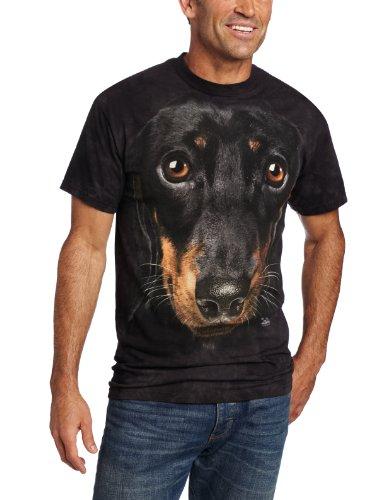 T-Shirt Dachshund Face M