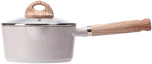 NXYCG Professional Non stick Milk Pot Household Noodle Pot Multi function Soup Pot 18cm