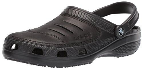 Crocs Men's Bogota Clog, black/black, 11 M US