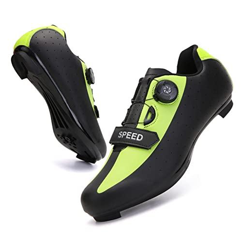 BING FENG MTB. Scarpe da Ciclismo Stradale da Ciclismo Professionale da Gara da Gara da Corsa Professionale Scarpe da Bicicletta autobloccante Scarpe da Ciclismo Sneaker da Ciclismo