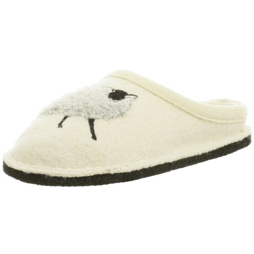 Haflinger Women's Sheep Slipper,Sheep Cream,36 EU (US Women's 5 M)