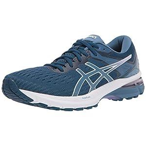 ASICS Women's GT-2000 9 Running Shoes, 9, MAKO Blue/Grey Floss