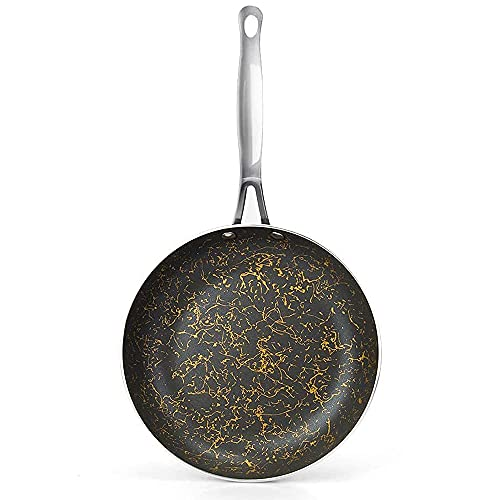 Cyrret 8 inch Omelette Pan, Nonstick Frying Pan with Ergonomic Handle Nonstick Skillet Pan Induction Cooker Compatible Dishwasher & Oven Safe
