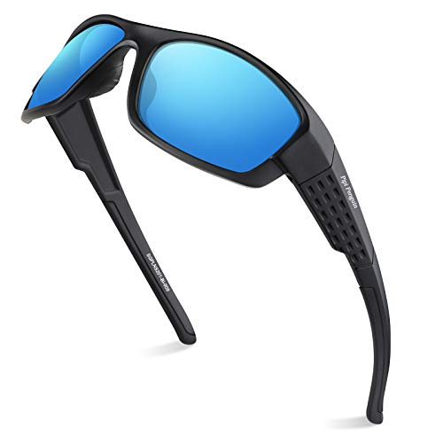 Mens Polarized Sunglasses Sports UV Protection for Fishing Driving Cycling Running