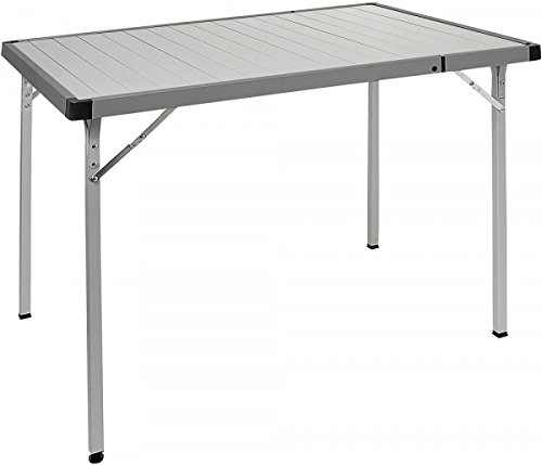 Brunner tafel Silver Gapless Extender inklapbare outdoortafel 94/129 cm - verkoop door Holly producten STABIELO -