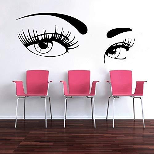 BailongXiao Rahmenlos-Neuankömmling Salon schönes Mädchen schöne Augen Wand d
