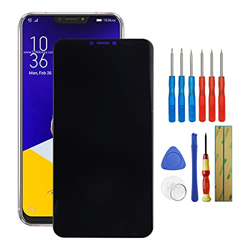 Fruisiy Pantalla LCD de repuesto para Asus Zenfone 5z ZS620KL Z01RD, cristal táctil de repuesto, incluye herramientas