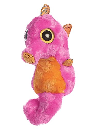 Yoo Hoo - Caballito de mar Ojos Brillantes, 13 cm, Color Rosa (Aurora 0060029087)