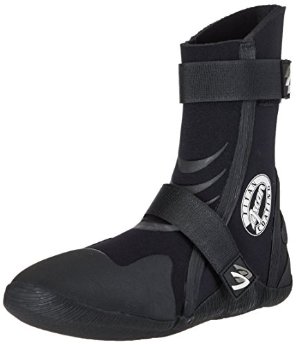 ASCAN Zapatos de Neopreno Calzado Surf Superflex 5mm - Negro, 37/38 EU