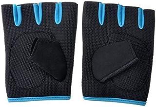 Half finger gloves for gym and exercise