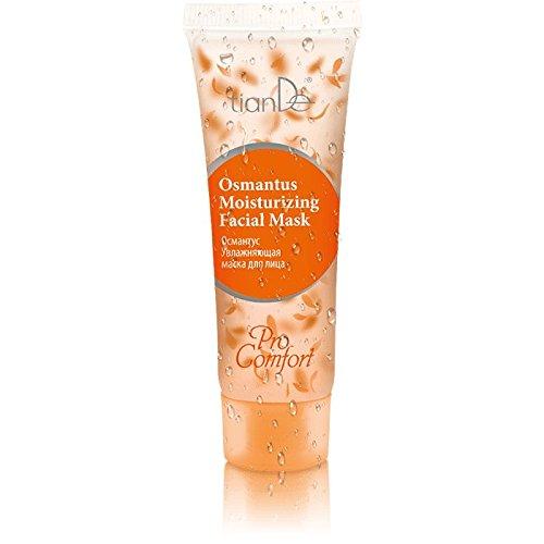 Masque Hydratant Pour Visage « Osmanthus » TianDe 52909, 50 g, Recompose peau déshydratée, Dépourvu de Glamour