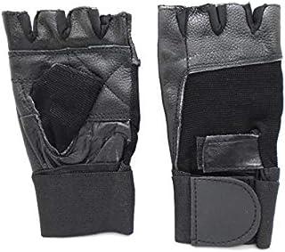 SUPER Fitness Half Finger Gloves - XXL ,Black