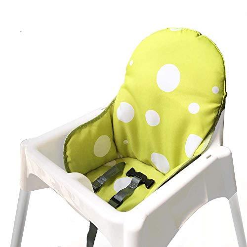 IKEA Antilop pokrowce na siedzenia i poduszki na krzesła dla dzieci ZARPMA, nadające się do prania składany pokrowiec na krzesełko dziecięce IKEA poduszka na krzesło dziecięce (żółty)