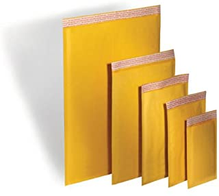 TheBoxery Kraft Bubble Mailers #000 4x8`` 500 Mailers Included - Self Sealing