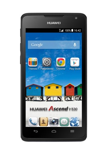 Huawei Ascend Y530 Smartphone (4,5 Zoll (11,4 cm) Touch-Display, 4 GB Speicher, Android 4.3) schwarz