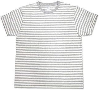 [ベルバシーン] NARROW BORDER S/S C/N W/PK TEE(161560n) ナロー ボーダー 半袖 クルーネック Tシャツ(ポケット付)