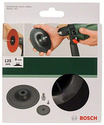 Bosch 2609256281 125 mm Sanding Plate for Drill with Clamping System