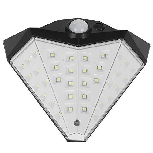 Lámpara de pared, luz solar que ahorra energía, respetuosa con el medio ambiente para puertas de jardín para vitrinas para patios, paredes para villas para techos, techos para pasillos