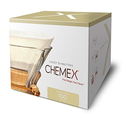 Chemex Coffee Filters with 100-Chemex Bonded Filter