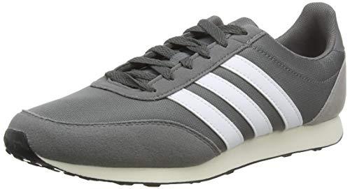 adidas V Racer 2.0 Zapatillas de Running Hombre, Gris (Grey Four F17Ftwr WhiteLight Granite Grey Four F17Ftwr WhiteLight Granite), 42 EU (8 UK)