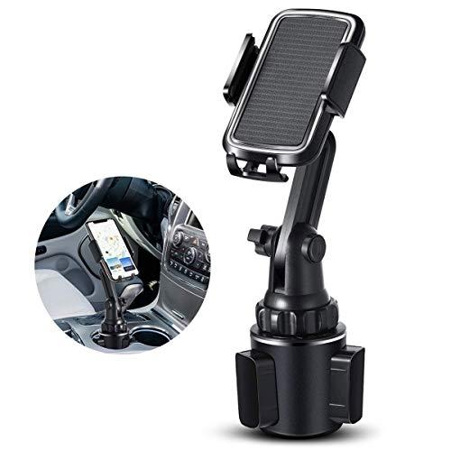 Soporte de teléfono para coche BEENLE, ajustable, soporte para teléfono inteligente, soporte...