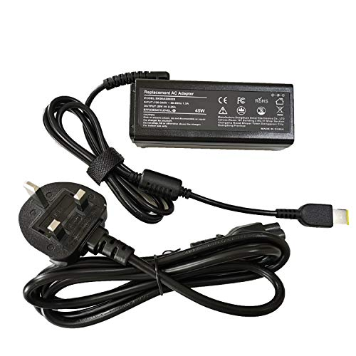 20V 2.25A 45W AC Adapter Laptop Charger for Lenovo ADLX45NLC3A ADLX45NCC3A ADLX45NDC3A ADLX45NCC2A ADLX45NLC2A 0B47030 0C19880 36200245 45N0289 45N0290