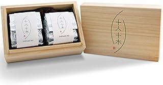 Taiwan Oolong Tea / Loose Leaf / CHIEHealth TEA Classical Gift (2.65 oz x 2) / Wooden Box Packaging