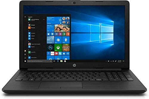 HP 15-DA0072NA Black Notebook 39.6 cm [15.6'] FHD 1920 x 1080 pixels Intel Celeron N4000 8GB DDR4-SDRAM 256GB SSD Wi-Fi 4 [802.11n] Windows 10 Pro - UK Keyboard Layout (Renewed)