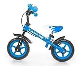 MILLY MALLY 2145 Vélo sans pédale, draisienne pour Enfant, avec Roues de 10Pouces, Freins et Sonnette