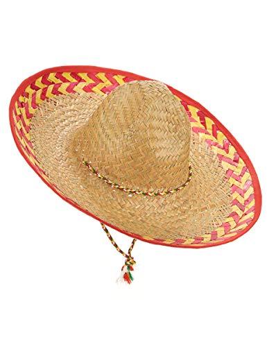 DEGUISE TOI - Chapeau Mexicain Adulte - Taille Unique