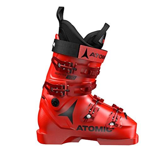 Atomic Redster Club Sport 110 Unisex Erwachsene Skischuhe, Rot - Rot/Schwarz - Größe: 40.5 EU