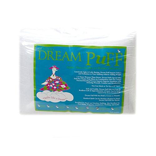 Quilters Dream Puff Batting (121in x 93in) Super Queen, Each, White