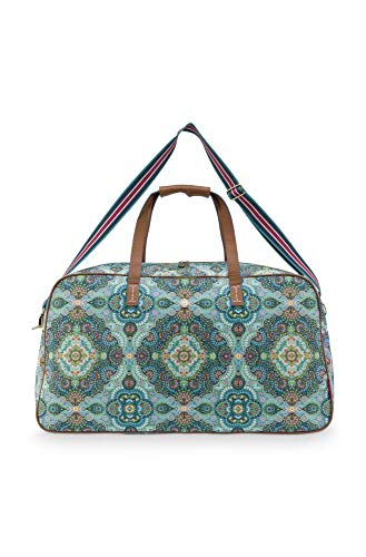 PiP Studio Weekend Bag Large Moon Delight Blue 65x25.5x35cm Kleur Blue Hengseltas Handtas