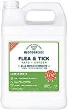 Wondercide - Flea and Tick Spray Concentrate for Yard and Garden with Natural Essential Oils – Kill, Control, Prevent, Fleas, Ticks, Mosquitoes and Insects - Safe for Pets, Plants, Kids - 1 Gallon