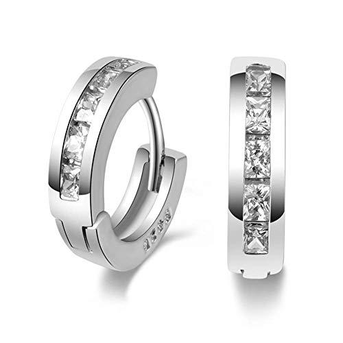 Rysmliuhan Shop Jewelry Earrings Piercing Earrings Stainless Steel Earrings Pretty Earrings Sleepers Earrings Earrings for Gift Earring for Wedding