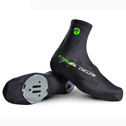 Regen-Fußbekleidung Fahrradschuhe Unisex Winddicht Thermo Atmungsaktive Abdeckung Fahrradüberschuhe Outdoor Sports (Farbe : XQ3, Größe : M)