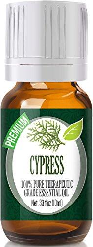 Cypress Essential Oil – 100% Pure Therapeutic Grade Cypress Oil – 10ml