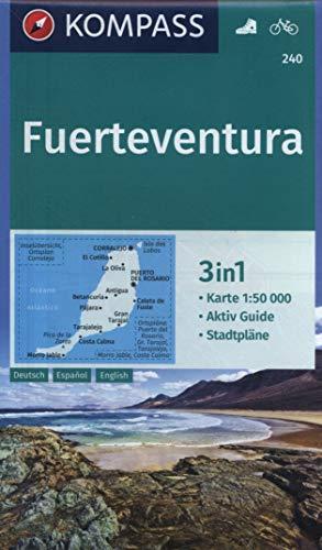 Kompass WK240 Fuerteventura: Wandelkaart 1:60 000