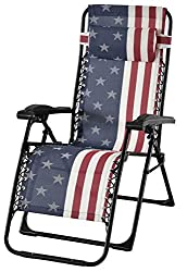 American Flag Lounge Chair