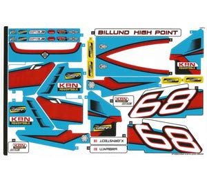 Sticker Sheet for Rally Car Set 42077 (37158)