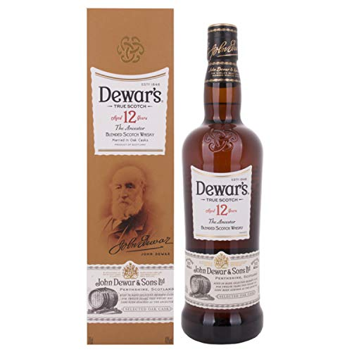 Dewar's 12 Years Old The Ancestor Blended Scotch Whisky GB 40,00% 0.7 l.
