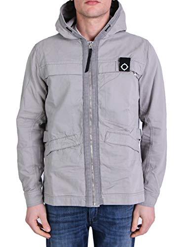 MA.Strum Mod. MAS1442-20 jas met capuchon voor heren, grijs