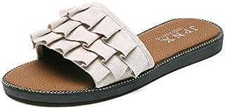 Donyyyy Zapatillas de fondo plano de fondo plano zapatillas