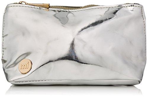 Mi-Pac Make Up Bag Trousse à Maquillage, 19 cm, Argent(Mirror Silverer)