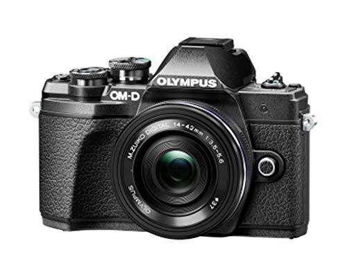 Olympus OM-D E-M10 MARK III 14-42/3.5-5.6 M.Zuiko Digital II R Fotocamera Digitale, 17.2 Megapixel, Nero