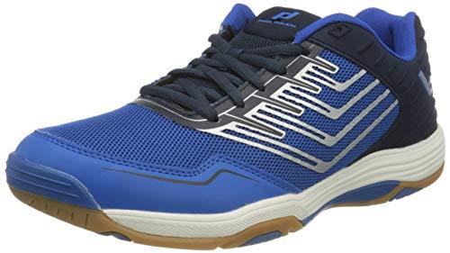 Pro Touch Herren Rebel 3 Volleyball-Schuh, Navy/Blue/Silver, 44 EU