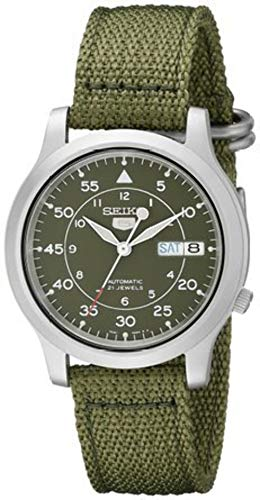 SNK805K2 Mens Green Casual Seiko Watch